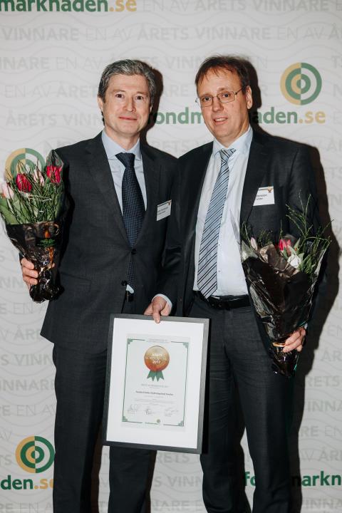 Björn Henriksson och Mats Andersson, Nordea Fonder