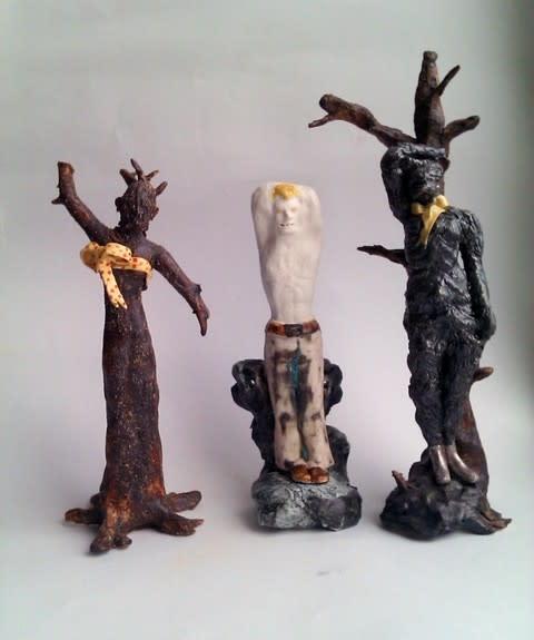 Maria Boij, keramiker, på blås&knåda 6 - 24 oktober 2012