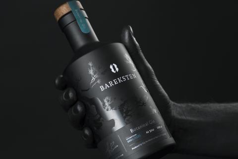 Bergens stolthet Bareksten Botanical Gin till Berntson