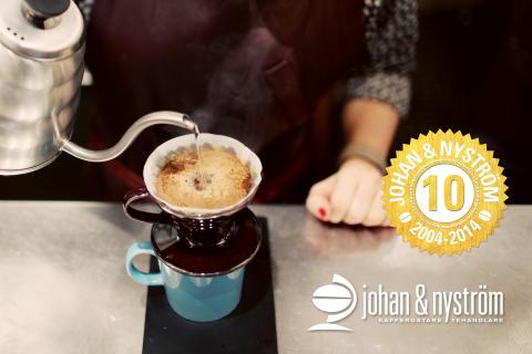 Johan & Nyström bjuder Johan och Nyström på kaffe
