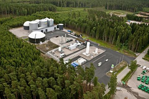 Invigning av Lidköping Biogas