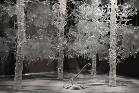"""Galleri Glas visar den nya utställning """"Angeldust"""" av Ingalena Klenell"""