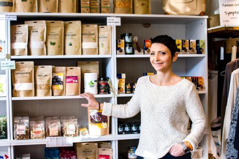 Entreprenör i hållbarhet erbjuder giftfria alternativ