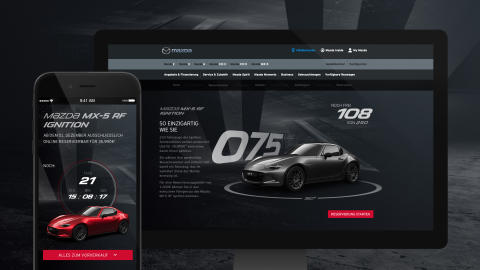 SYZYGY inszeniert digitales Markenerlebnis zum Launch des Mazda MX-5 RF