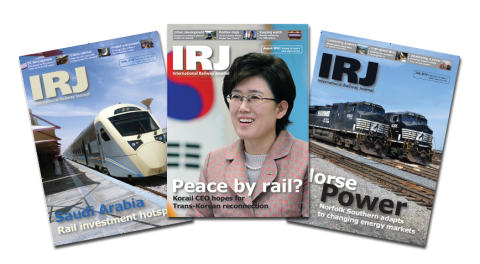 IRJ and IRITS to co-host International Railway Summit 2015