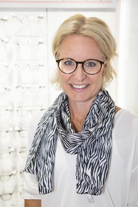Lottie Funck Ekelund, marknadsdirektör Synoptik