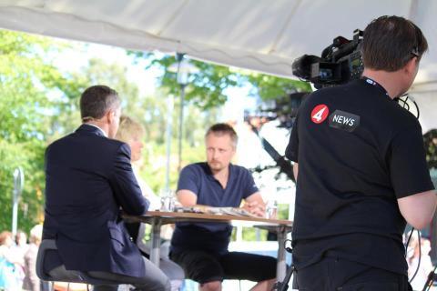 Stiftelsen Tryggare Sverige fyller åtta år