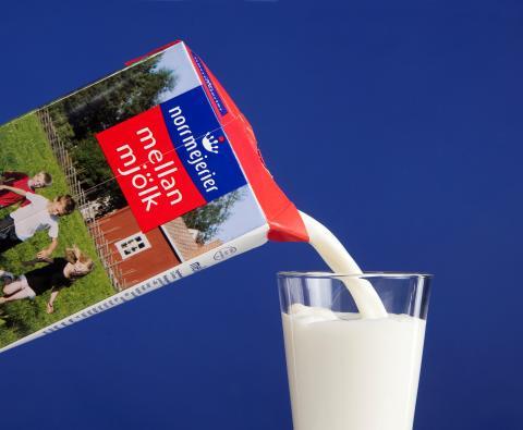 Regn och rusk ökar behovet av D-vitamin   -  I dag firas Skolmjölkens dag runt om i världen