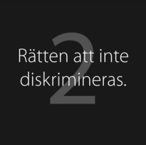 ELEVER I UMEÅ ENGAGERAR SIG  MOT DISKRIMINERING