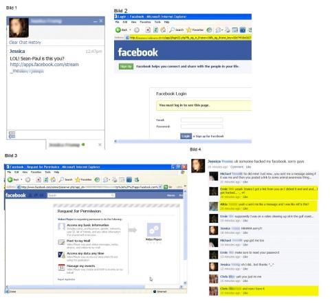 Identiteten stulen via Facebook