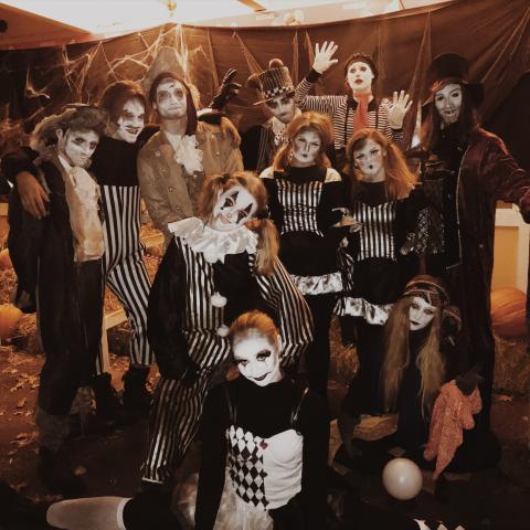 Mys och rys i Parken Zoo under Halloweenveckan