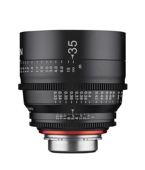 Samyang XEEN 35mm fra siden II