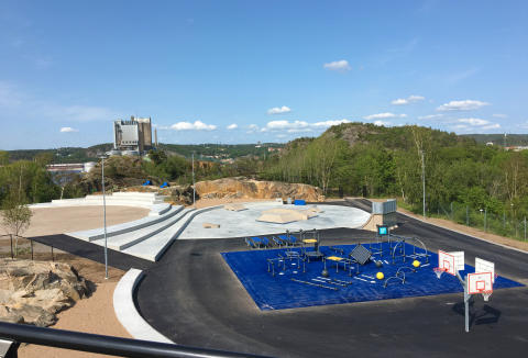 Premiär idag för ny aktivitetspark i Uddevalla