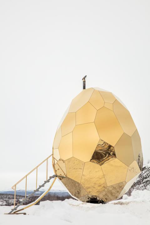 Riksbyggens Solar Egg, Kiruna