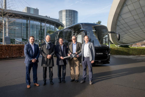 Unlimited Luxus im Scania Interlink HD