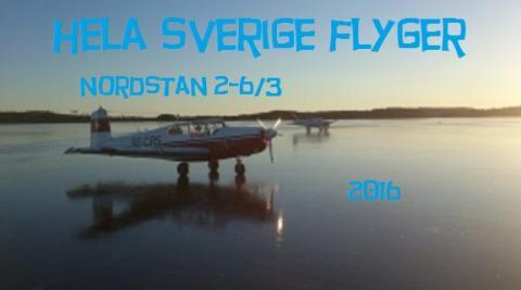 """""""Hela Sverige Flyger"""" i Nordstan 2-6 mars"""