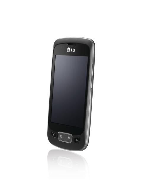 LG Optimus One sidelengs