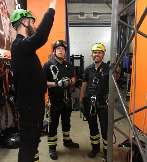 Procurator Academy – lång erfarenhet, kompetenta och kunniga inom fallskydd