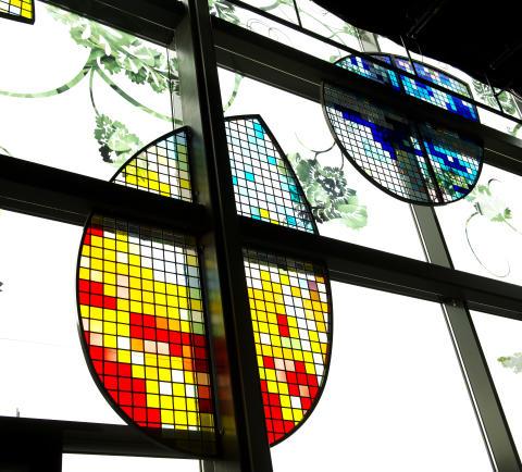Kulturhus: Glaskonst