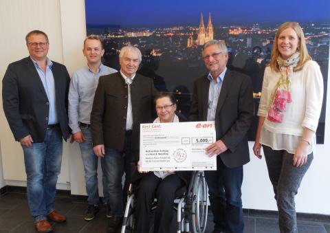 5.000 Euro für Bettina-Bräu-Stiftung