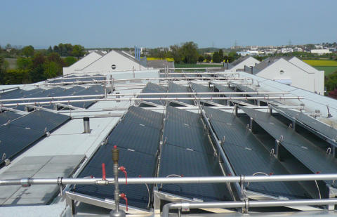 Energieffektiv luftkonditionering i prisbelönt lågenergihus