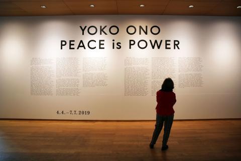 Yoko Ono. PEACE is POWER - Blick in die Ausstellung