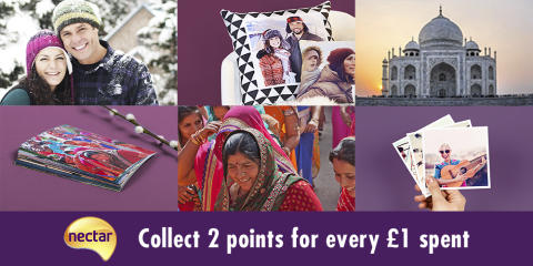 Snap up more points with Nectar and Photobox