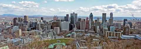 Icelandair öppnar ny flyglinje till Montreal, Québec Kanada maj 2016 med fyra flygningar i veckan