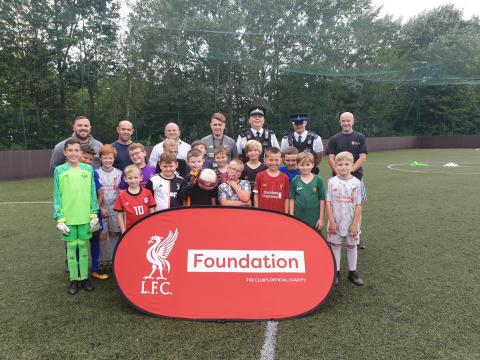 Merseyside Police and Sefton Council to continue partnership with LFC Foundation Premier League Kicks programme to young people in Sefton