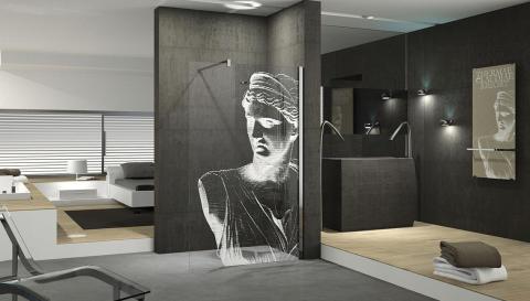 Konsten flyttar in i badrummet!