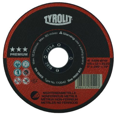 Tyrolit kappeskive ALU 1,2 mm