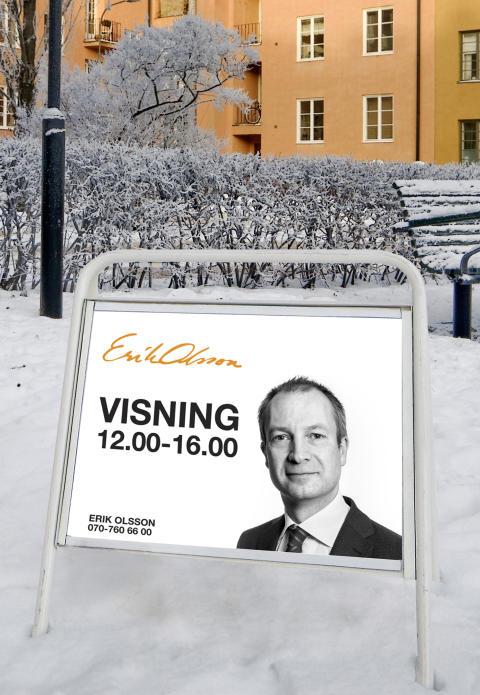 Erik Olsson Fastighetsförmedling kommenterar bostadsmarknaden 15 januari 2016