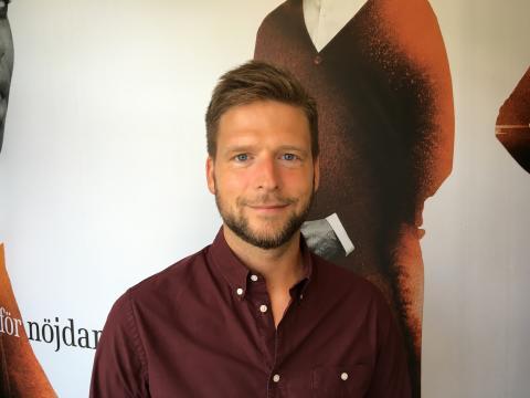 Elias Berglund ny CHRO på Tre