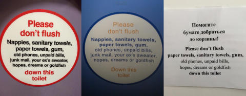 Russians pinch Virgin Trains' toilet humour for Winter Olympics!