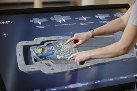 Groundbreaking visualization and 3D technologies reveal hidden ancient Egyptian treasures