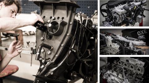Next generation prototypes of OXE Diesel 300