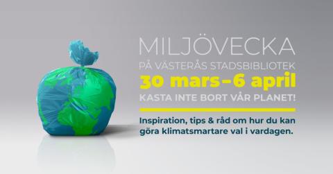 Miljövecka på Västerås stadsbibliotek