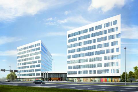 Skanska investerar 206 miljoner kronor i andra fasen av kontorsprojekt i Krakow, Polen