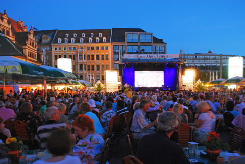 1. bis 9. August 2014: Classic Open auf dem Leipziger Markt