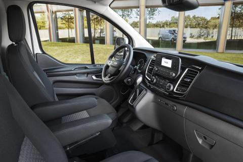Ford Transit Custom ladbar hybrid