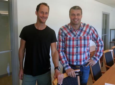Anders Södergren och Daniel Kindberg