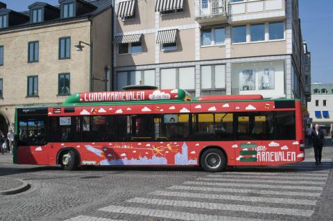 Fler bussar och tåg till Lundakarnevalen 16-18 maj