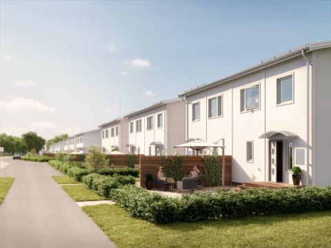 Antalet nybyggda bostäder minskar