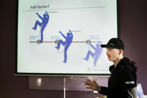 Utbildning i SPRAT på Klätterservice Training Center