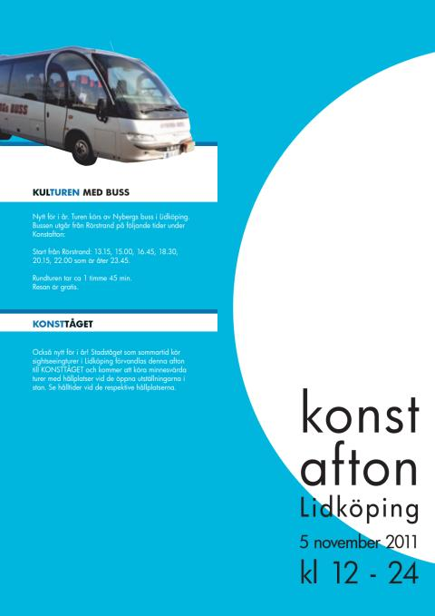 Folder Konstafton 2011