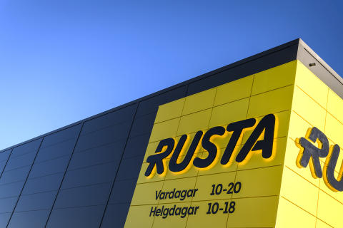Rusta Storefront Uppsala