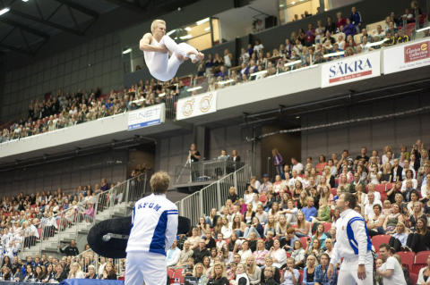 Tävlingsgymnastiken ökar igen - truppgymnasterna särklassigt flest