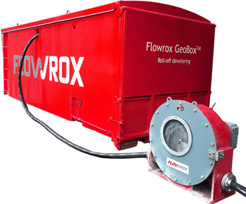 Flowrox introduces Flowrox GeoBox™: All-in-one Geotextile Filtration and Dewatering Unit