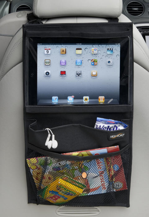 iPadhållare med smarta fickor, 2
