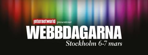 Logotype Webbdagarna Stockholm 2013
